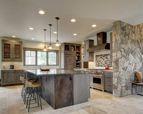 rustic kitchen design ideas remodel pictures matchstick tile images design rustic kitchen johngupta kitchen designs