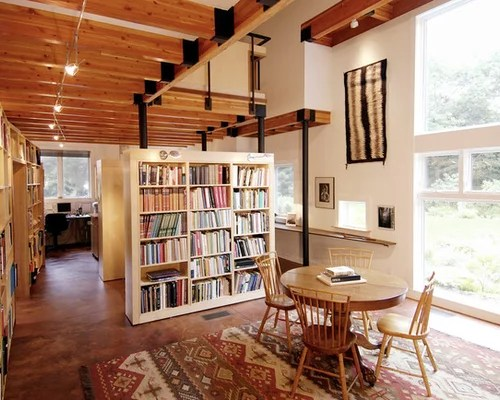 Bookcase Room Divider Houzz