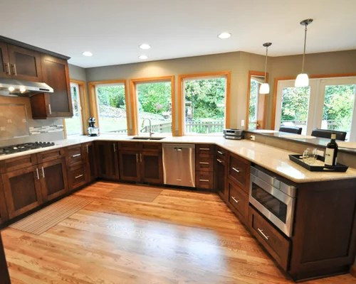 kitchen design ideas renovations photos dark wood cabinets design ideas design style dining room fireplace furniture garden