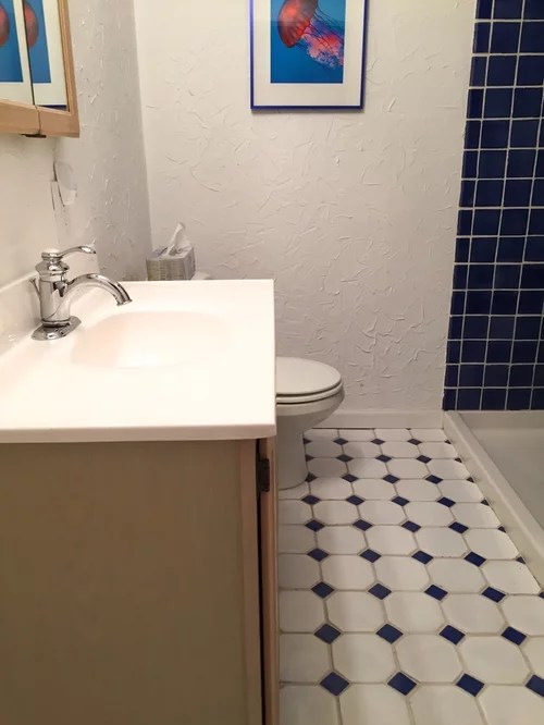 Bathroom Wall Color With Cobalt Blue Tile