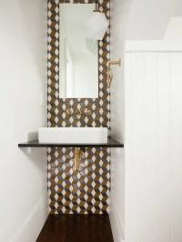 Contemporary Powder Room Design Ideas, Remodels & Photos