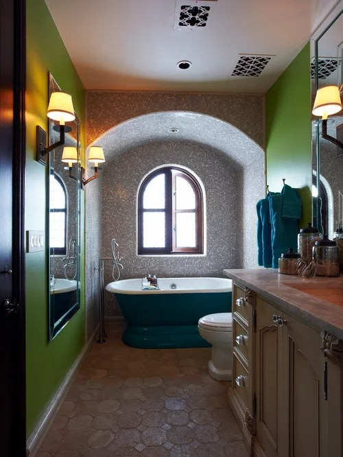 Klein Badezimmer Arch Over Tub Ideas, Pictures, Remodel And Decor