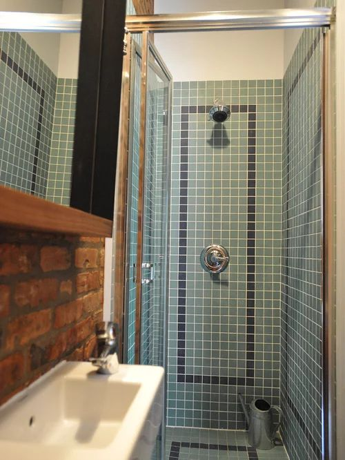 Small eclectic shower room design ideas renovations amp photos