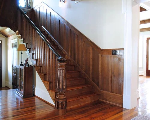 Home Builders Seattle Stained Wainscoting | Houzz