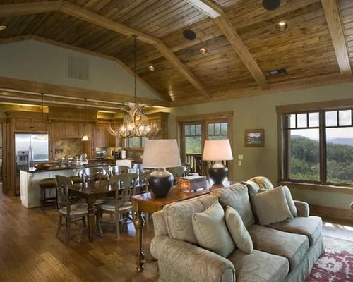 Open Floor Plan Living Room Houzz - open concept living room