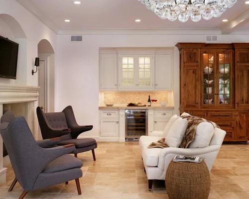 Hutch Bar Houzz - living room hutch