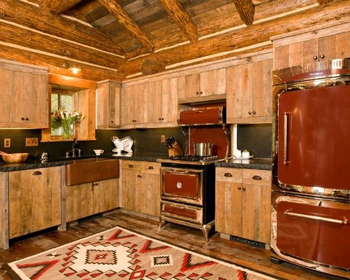rustic kitchen design ideas remodel pictures colored appliances small eat kitchen design photos colored appliances