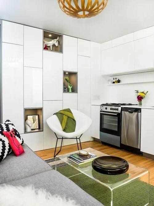 contemporary single wall kitchen design photos inspiration small transitional single wall eat kitchen