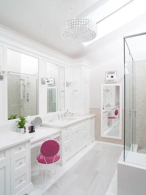 White Bathroom Cabinets Design Ideas & Remodel Pictures | Houzz