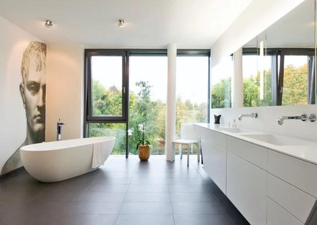 Furchterregend Bilder Badewanne Eingemauert Modern Ideen - Wohndesign