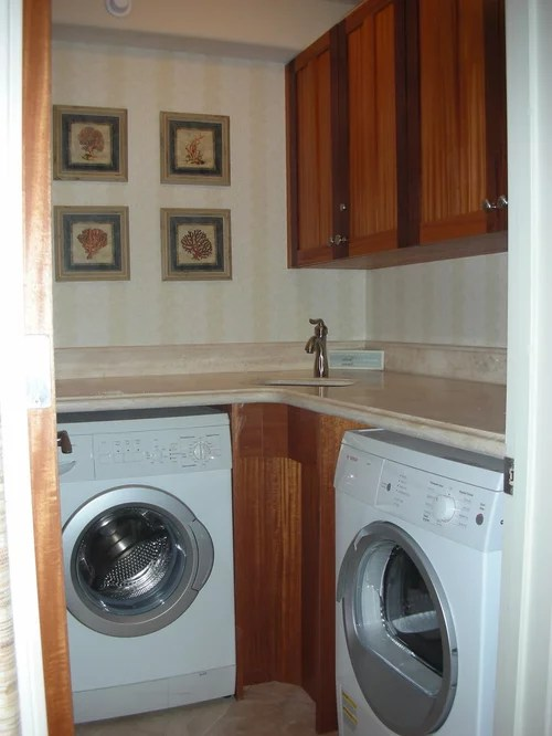 Corner Sink Laundry Room Design Ideas Pictures Remodel