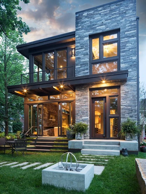 Houzz | Contemporary Exterior Home Design Ideas & Remodel Pictures