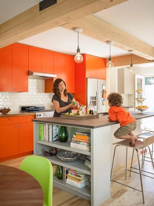 eat kitchen white backsplash orange cabinets design ideas eat kitchen designs orange gloss kitchen designs contemporary