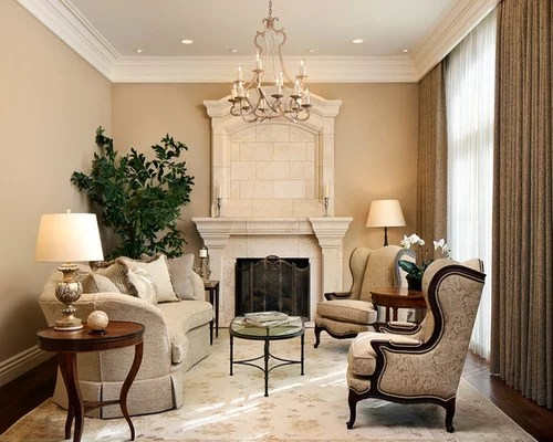 Old Fashioned Living Room Home Design Ideas, Pictures