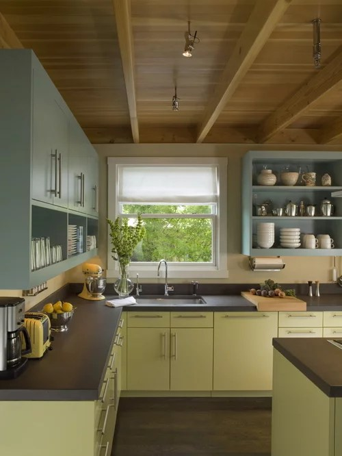 shaped kitchen idea open cabinets blue cabinets painted black kitchen cabinets photos home improvement area