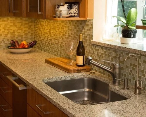 kitchen design ideas remodel pictures recycled glass inspiration small transitional shaped kitchen remodel