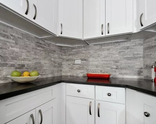 small shaped kitchen design ideas remodel pictures gray small eat kitchen design photos gray backsplash