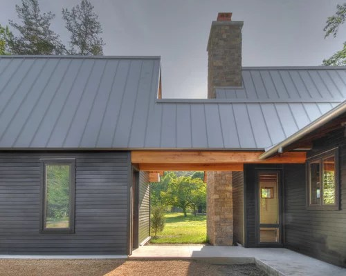 Couleur Facade Maison Orange Black Metal Roof Home Design Ideas, Pictures, Remodel And