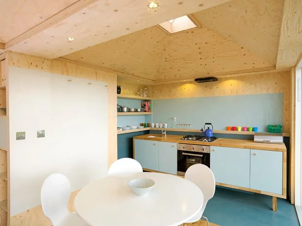 houzz tour innovative small space living scottish farmland small kitchen requires innovative approach designed kitchen