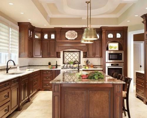 traditional kitchen design photos beige backsplash kitchen backsplash traditional kitchen