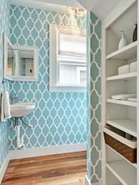 Bathroom Wallpaper Home Design Ideas, Pictures, Remodel ...
