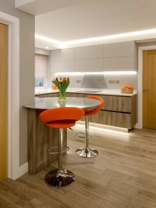 design ideas contemporary shaped eat kitchen devon small contemporary shaped eat kitchen idea moscow flat