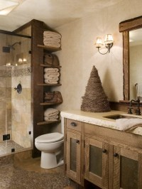 Rustic Bathroom Design Ideas, Remodels & Photos