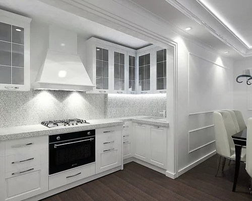 kitchen design ideas renovations photos flat panel cabinets small shaped eat kitchen design photos flat panel