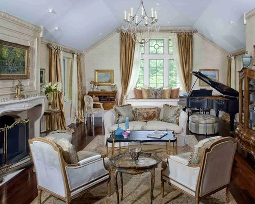 French Style Living Rooms Houzz - french style living room