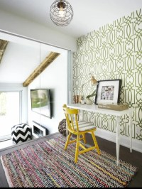 Lattice Wallpaper | Houzz