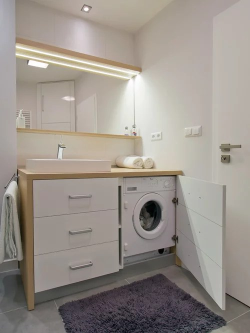 Meuble Cache Lave Linge Under Counter Washing Machine Ideas, Pictures, Remodel And