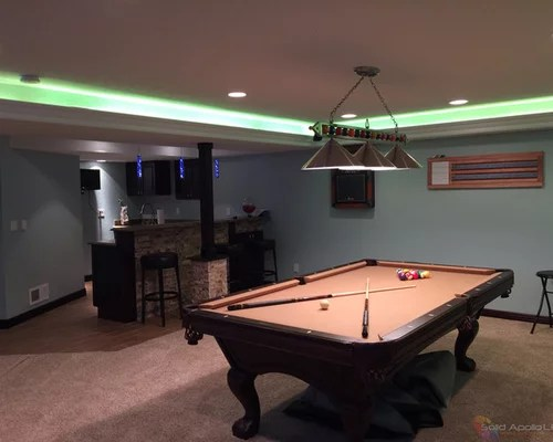 Cabinet Color For Low Light Kitchen Man Cave Game Room Led Lighting
