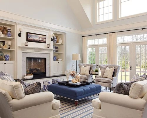 Beach Style Living Room Ideas \ Design Photos Houzz - living room remodel