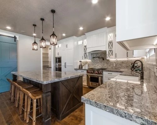 transitional kitchen design ideas renovations photos inspiration small transitional shaped kitchen remodel