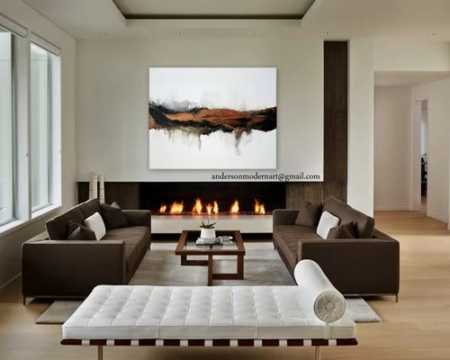 Large Metal Wall Art Contemporary Abstract Earth Tone