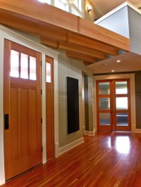 Wood Window And White Trim Home Design Ideas, Pictures ...