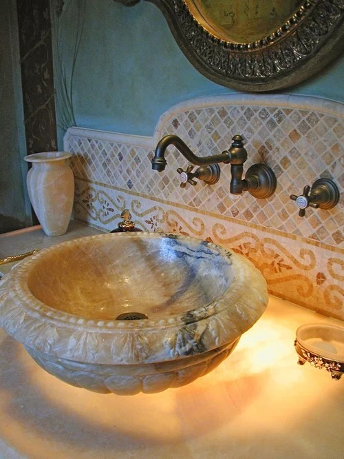 Raised Sink Bowls Home Design Ideas Pictures Remodel And
