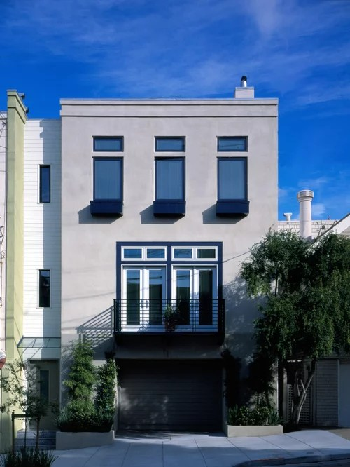 Houzz Palo Alto Modern Stucco Home Design Ideas, Pictures, Remodel And Decor