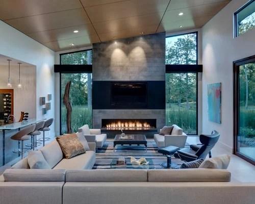 Living Room with a Bar Ideas \ Design Photos Houzz - bar ideas for living room
