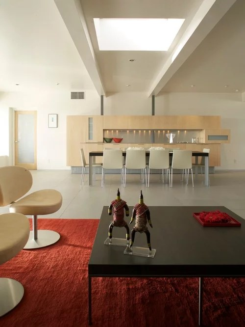 Modern Hutch Houzz - living room hutch