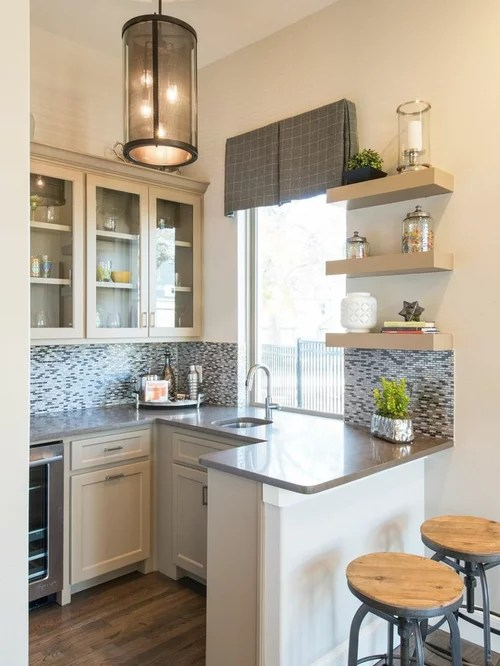 36 Inch High Kitchen Island Small Kitchen Peninsula | Houzz