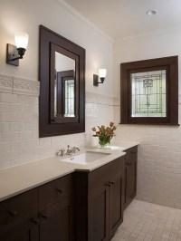 Dark Bathroom Cabinets | Houzz
