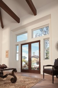 Exterior & Interior of Frenchwood - double hinged inswing ...