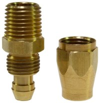 "Flexeel - 3/8"" Replacement Fitting for Flexeel Air Hose ..."