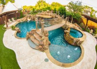 Pirates Themed Backyard - Tropical - Pool - Dallas - by ...