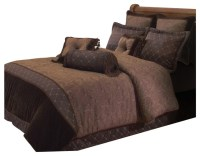 Opulent Paisley 10-Piece Comforter Set - Transitional ...