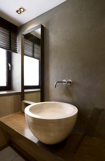 Ein Mini Bad Kommt Mit Naturstein Groß Raus!   Badezimmer 3 Quadratmeter