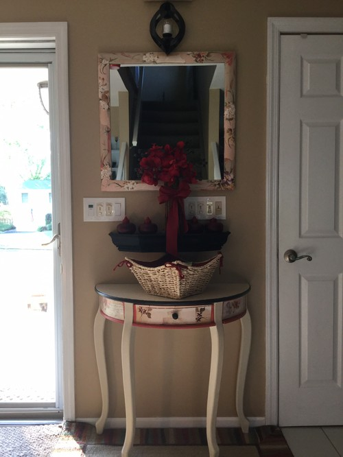 Houzz Rug Sale Redo Front Door And Entry Table With Mirror