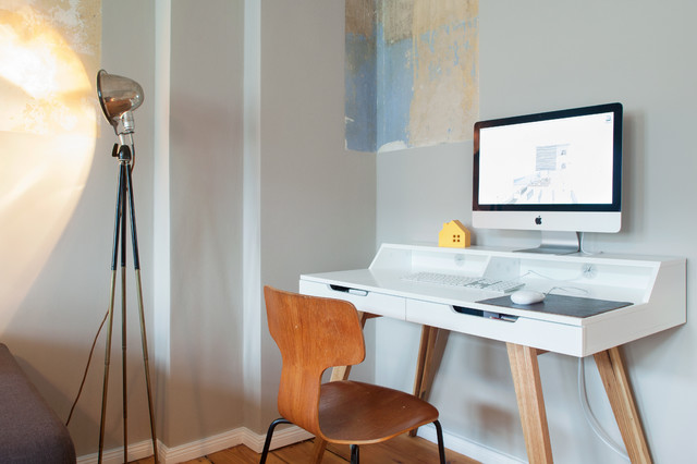 Home Office Berlin Apartment In Prenzlauer Berg - Eclectic - Home Office