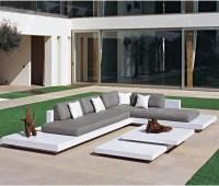 Platform Outdoor Sectional Sofa - Contemporary - Patio ...